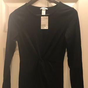 H&M Twist Front Body Con Dress